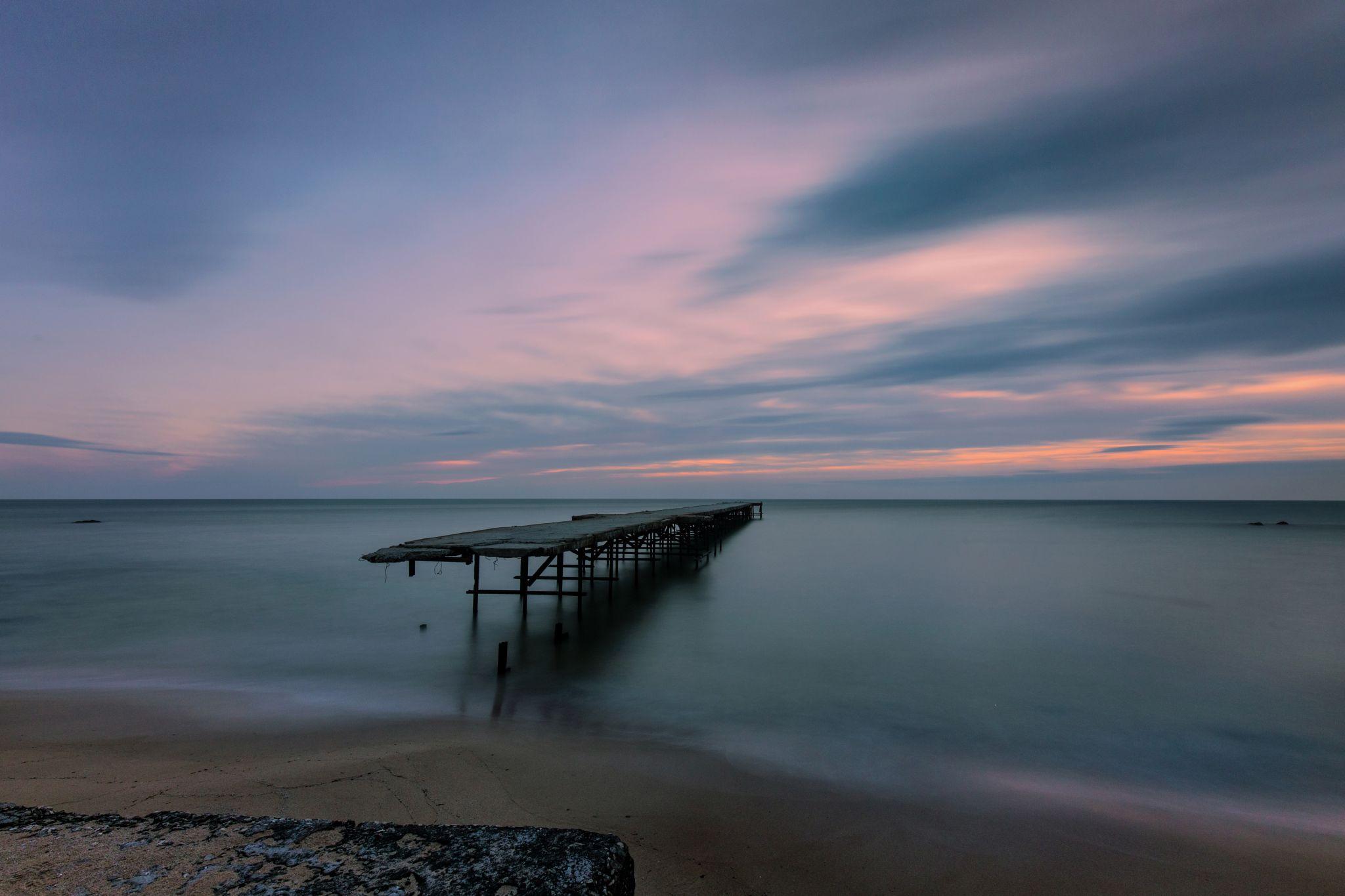 The broken pier, Bulgaria