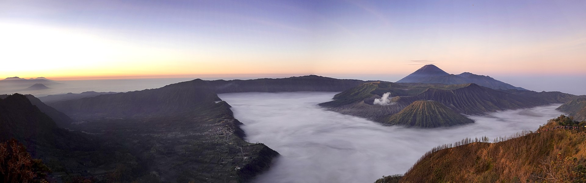 The Bromo Observation Deck, Indonesia