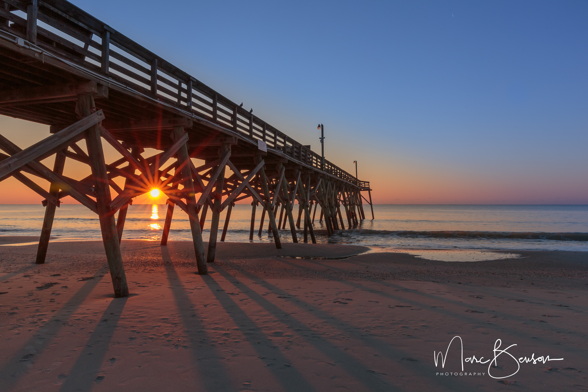 The Pier at Garden City, Myrtle Beach SC, USA