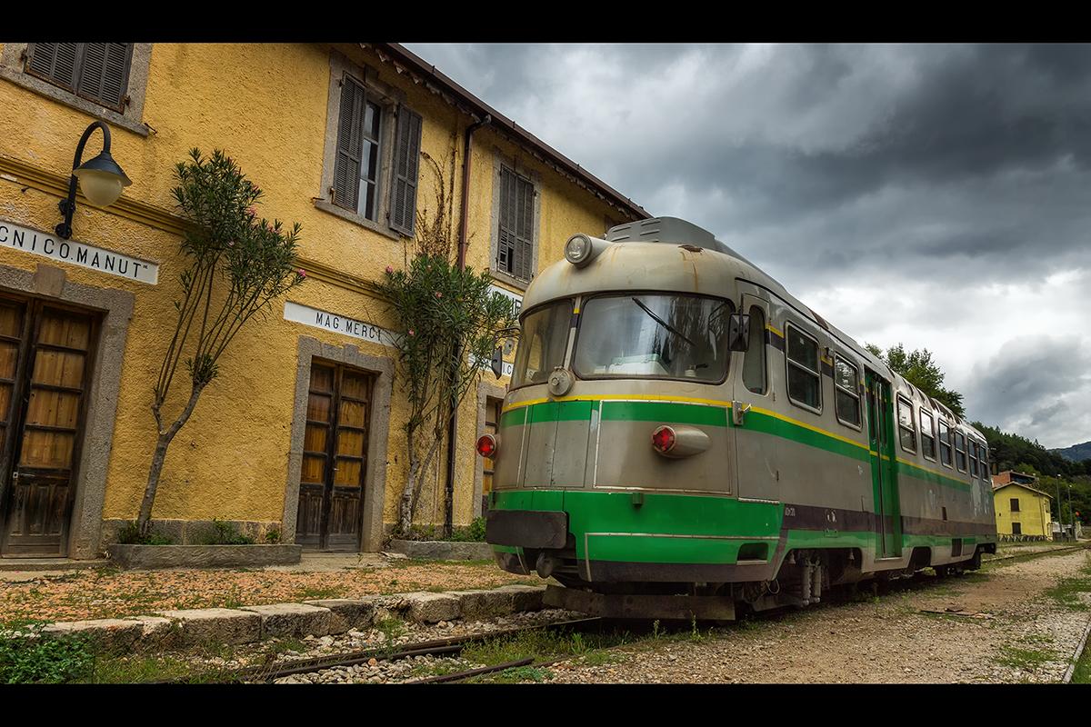 Train Station Taquisara, Italy