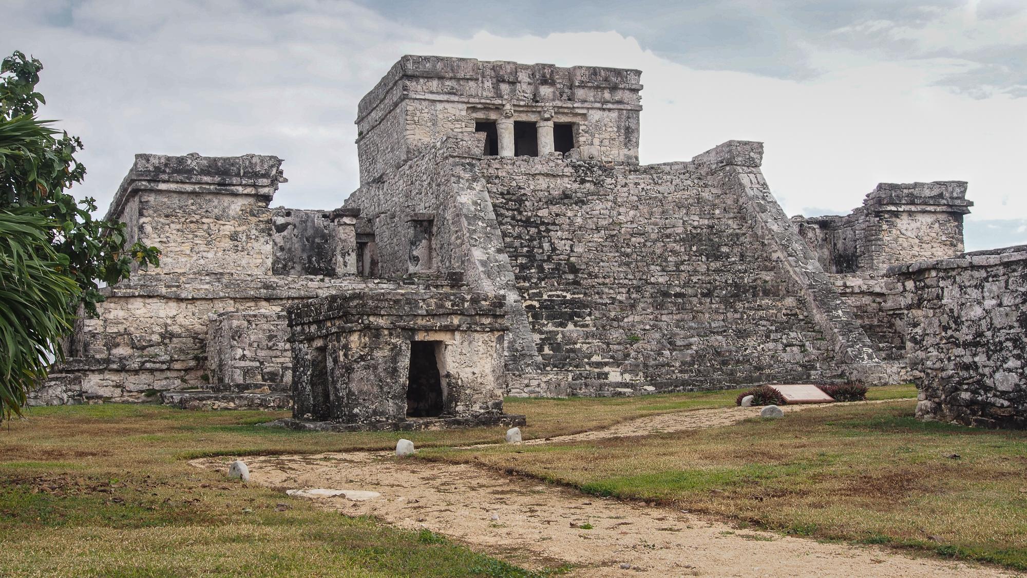 Tulum, el castillo, Mexico