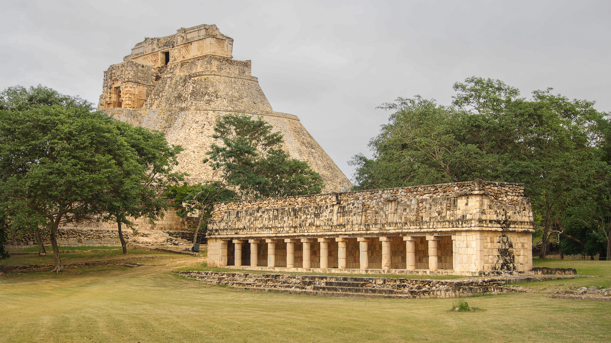 Uxmal ,the gallery, Mexico