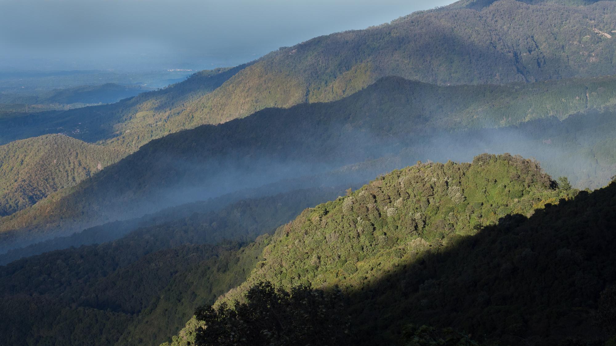 valley near Quetzaltenango, Guatemala