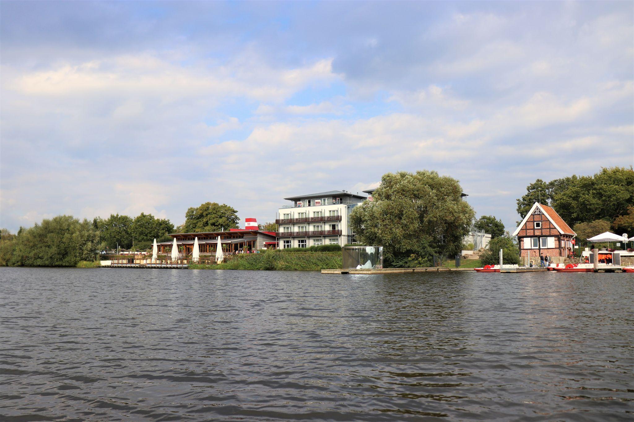 Vechtesee in Nordhorn, Germany