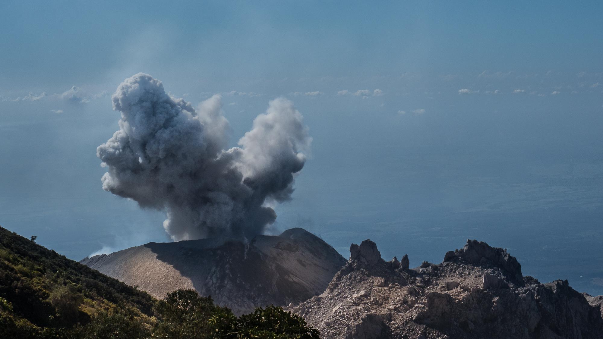 Volcan Santiaguito, Guatemala