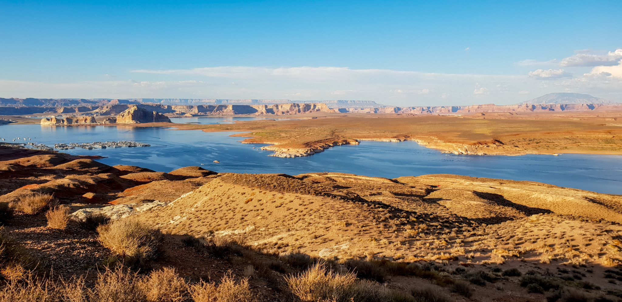 Wahweappoint, vue sur le lac Powell, USA
