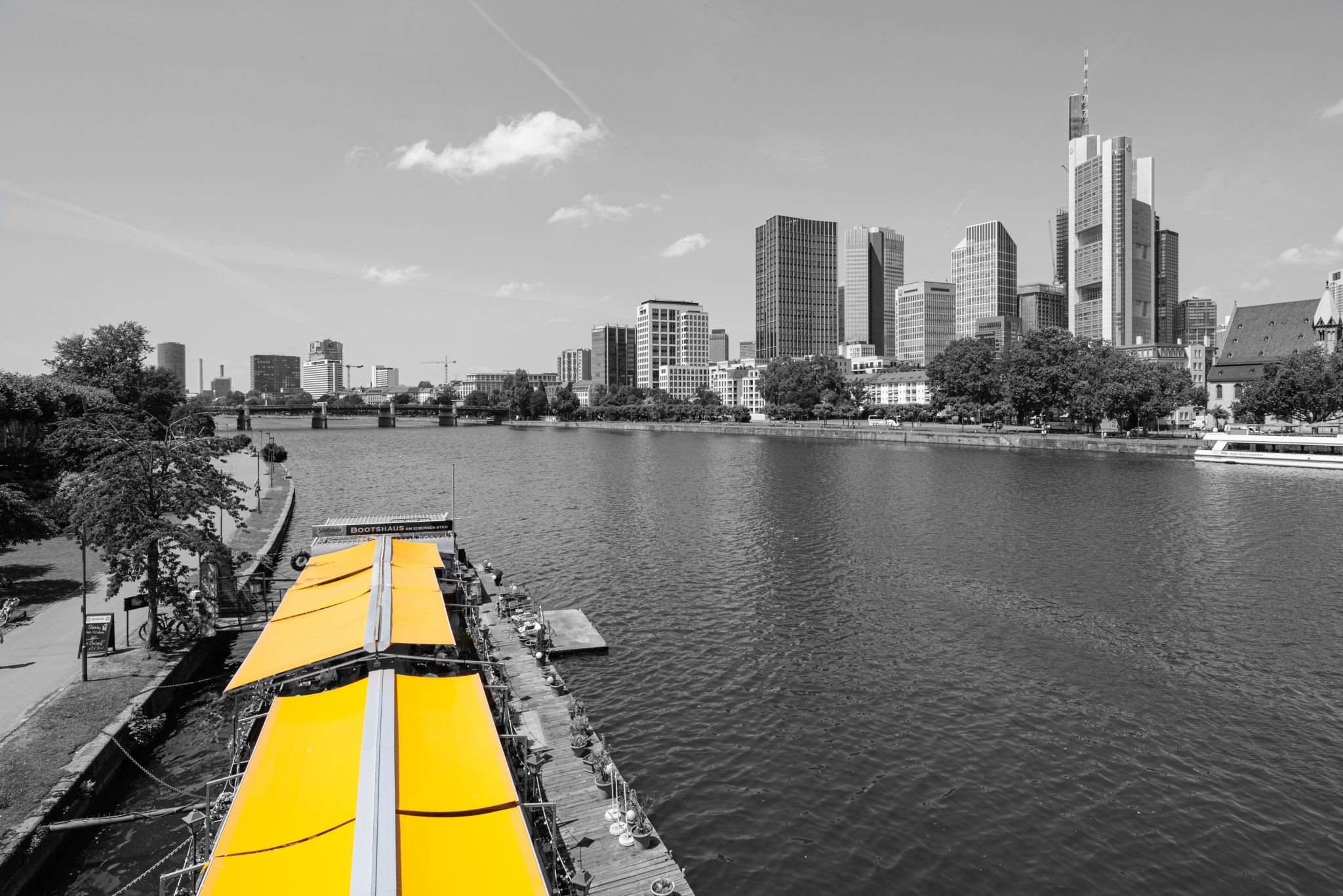 Yellow at the river, Germany