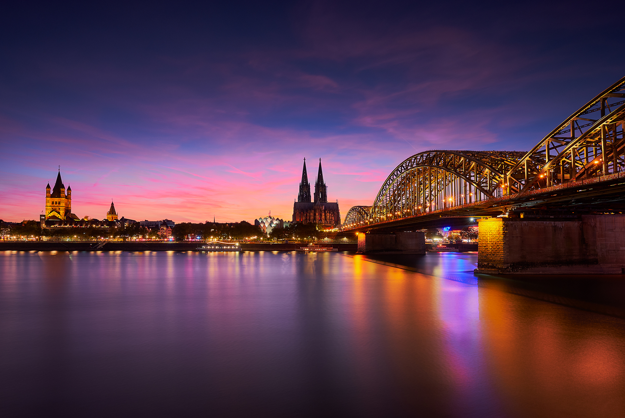 A view on the Cologne Cathedral, Germany