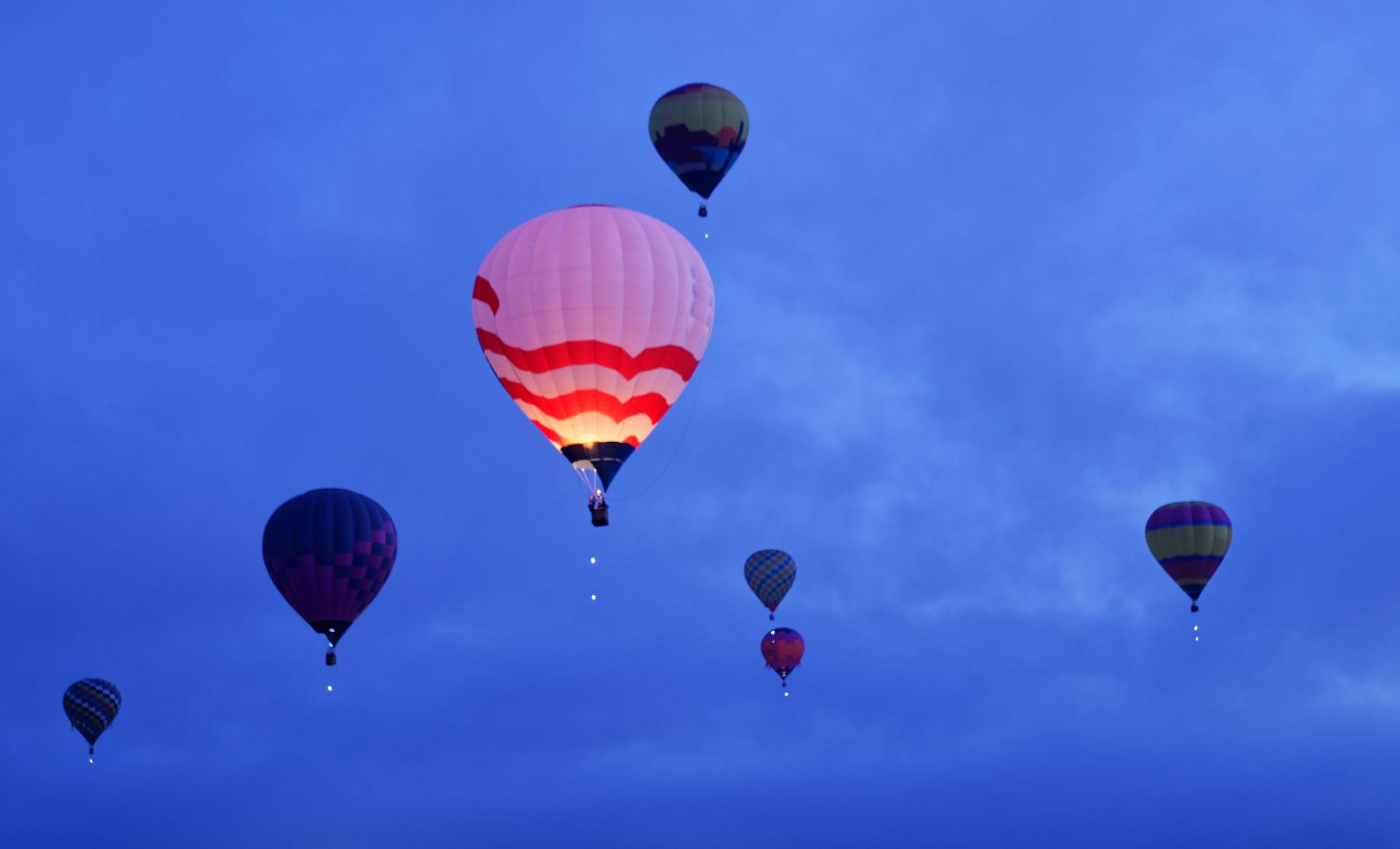 albuquerque nm Balloon Fiesta, USA