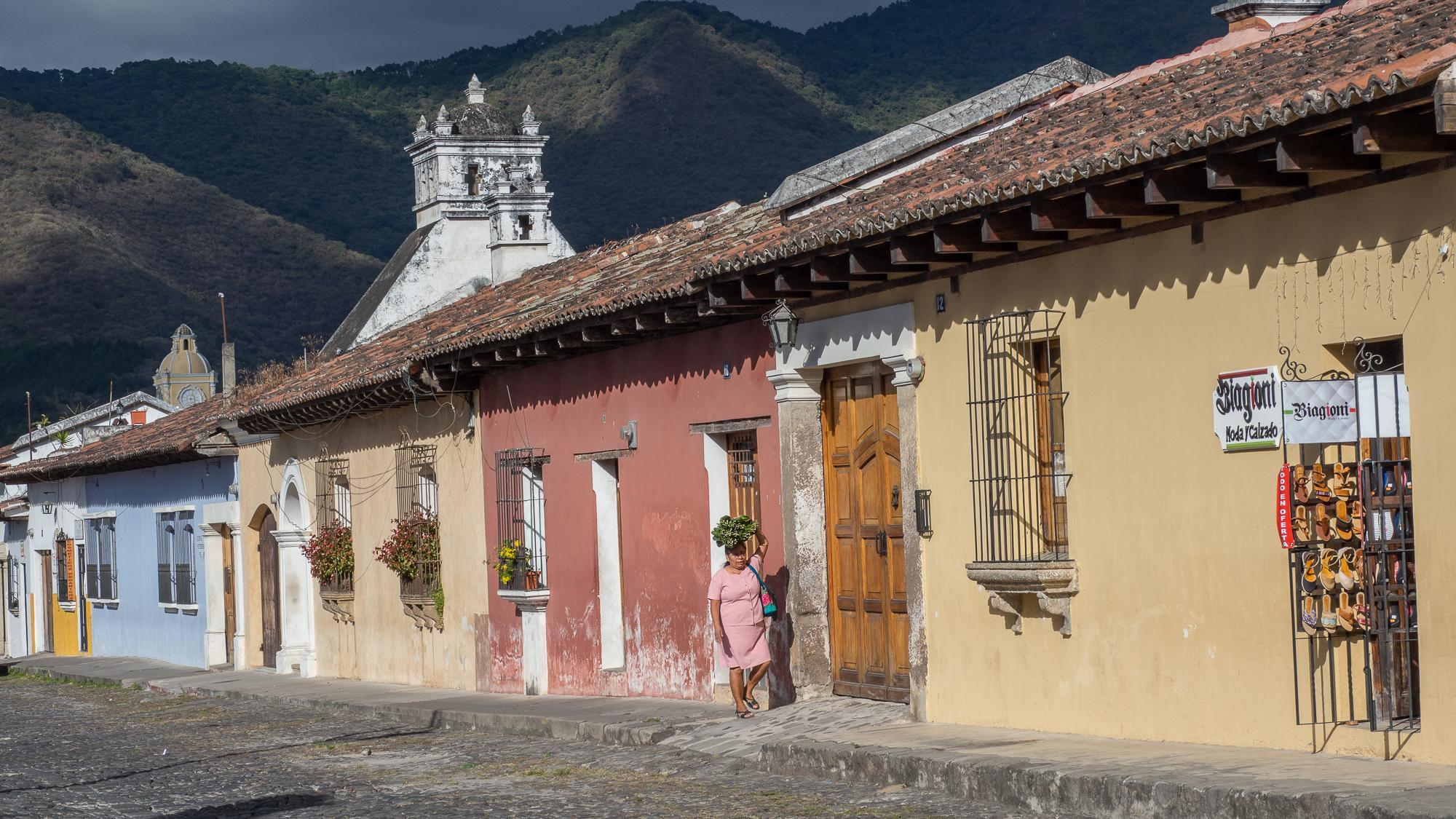 Antigua street, Guatemala