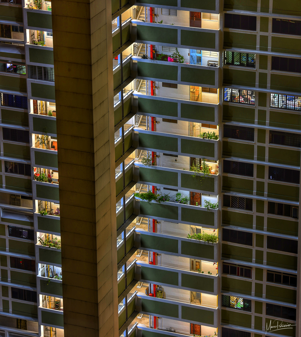 Apartment pattern, Singapore