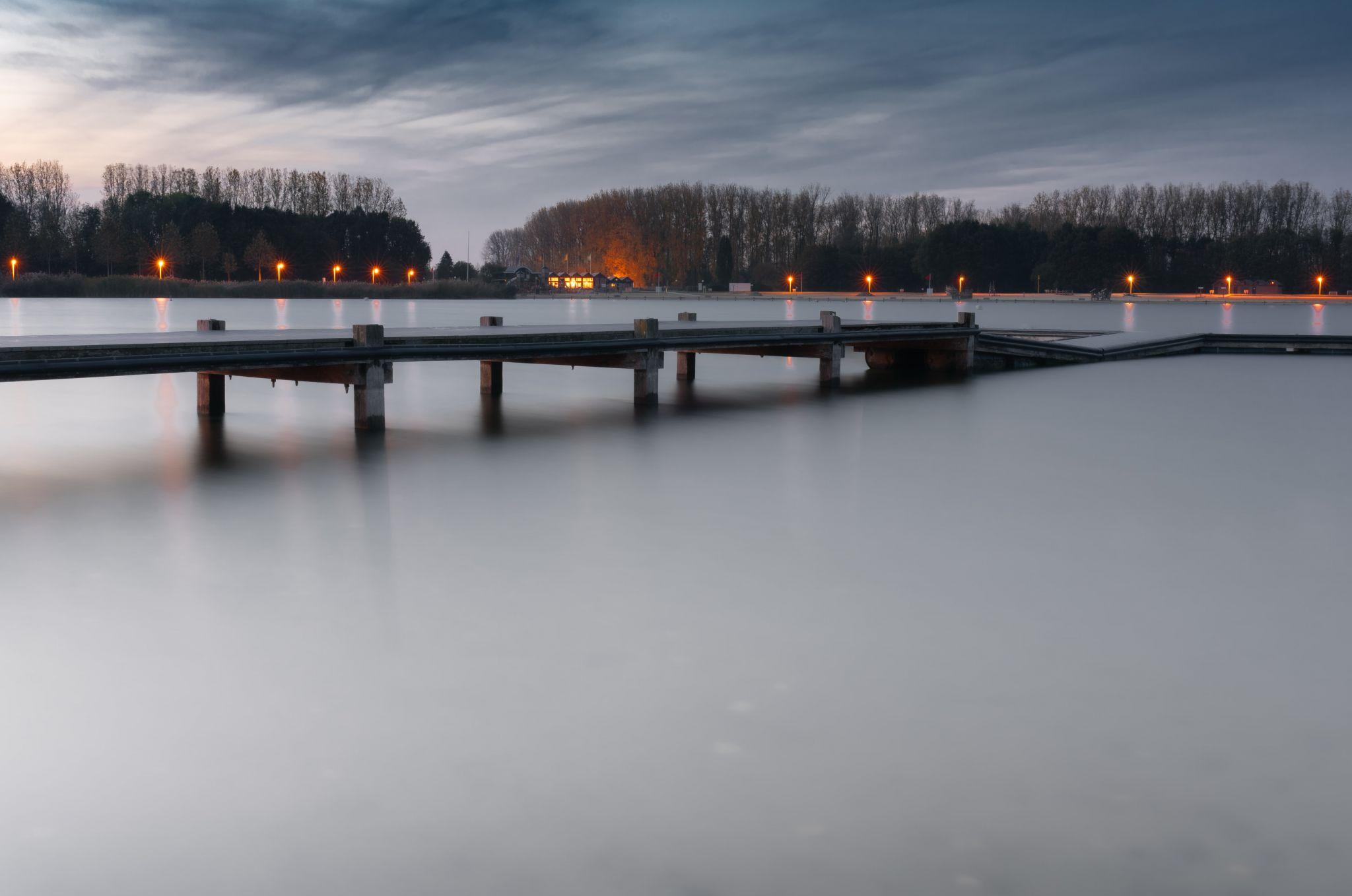 At the lake, Belgium