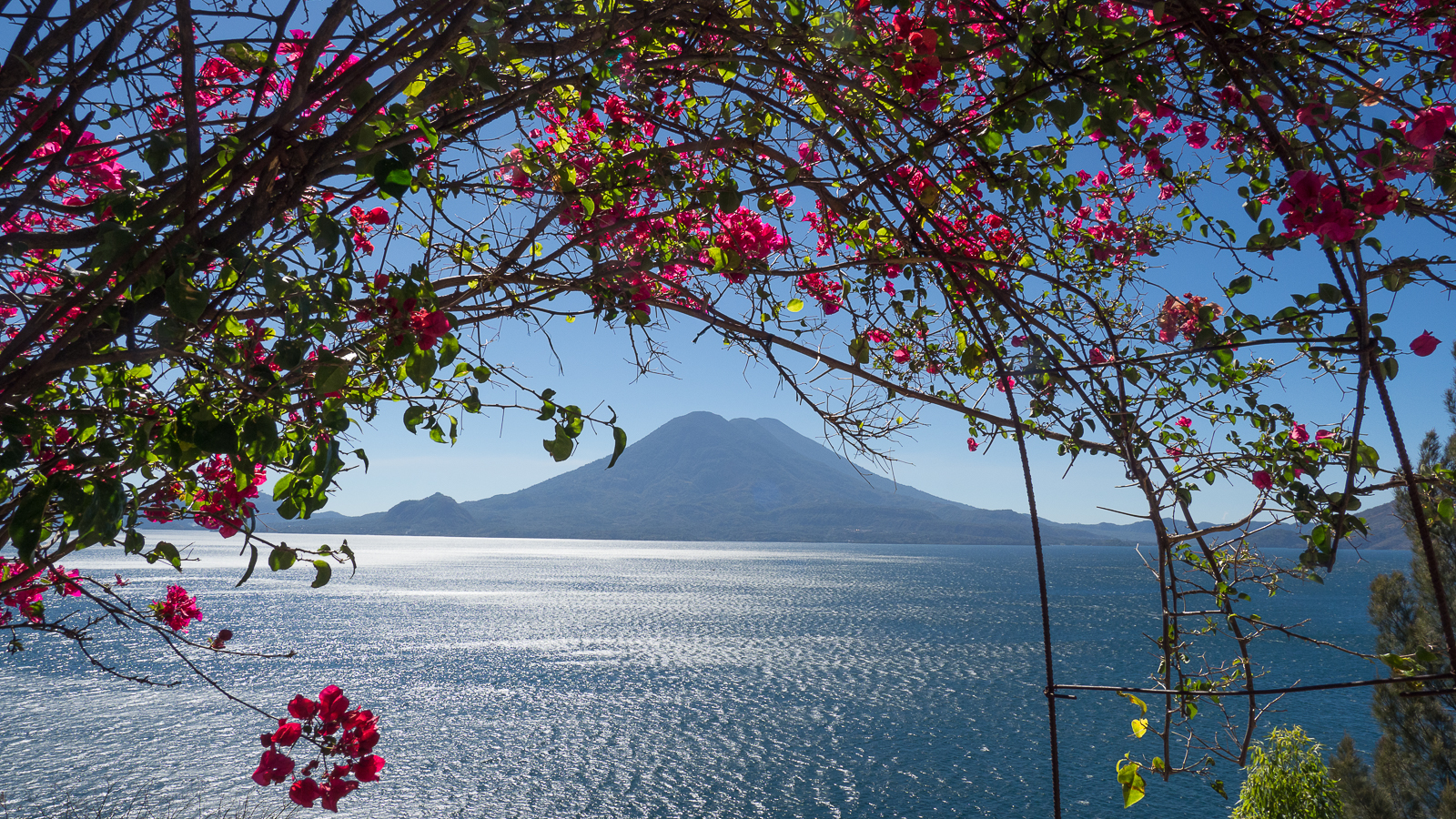 Atitlan lakeside, Guatemala