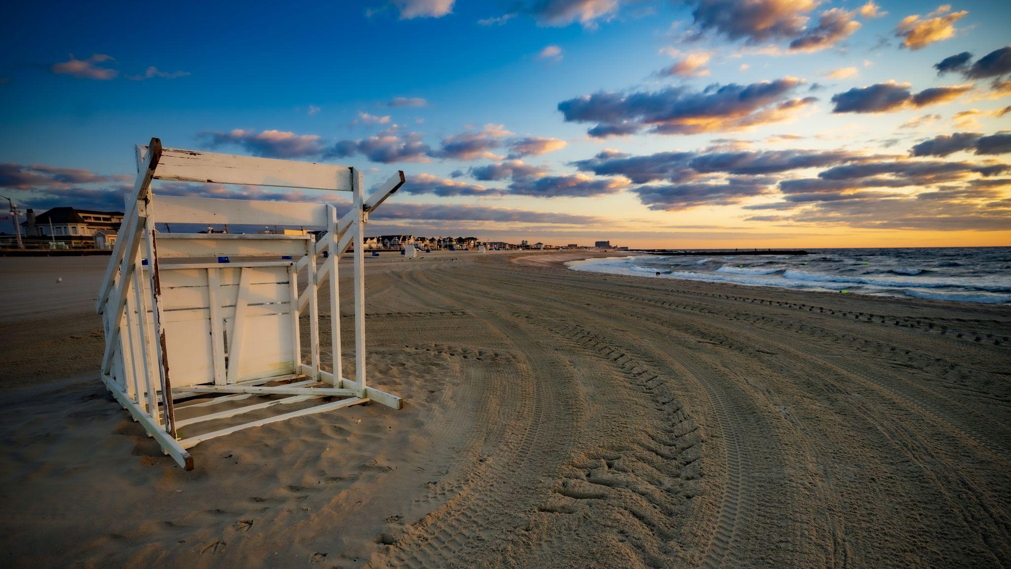 Avon-by-the-sea Jetty Beach, USA