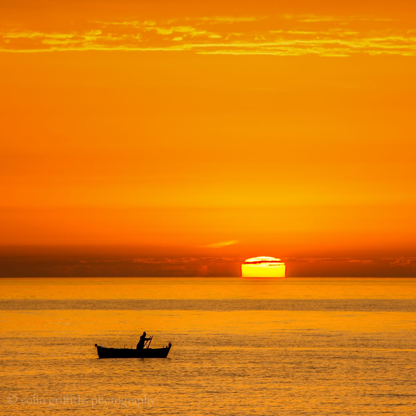 Bari sunrise, Italy
