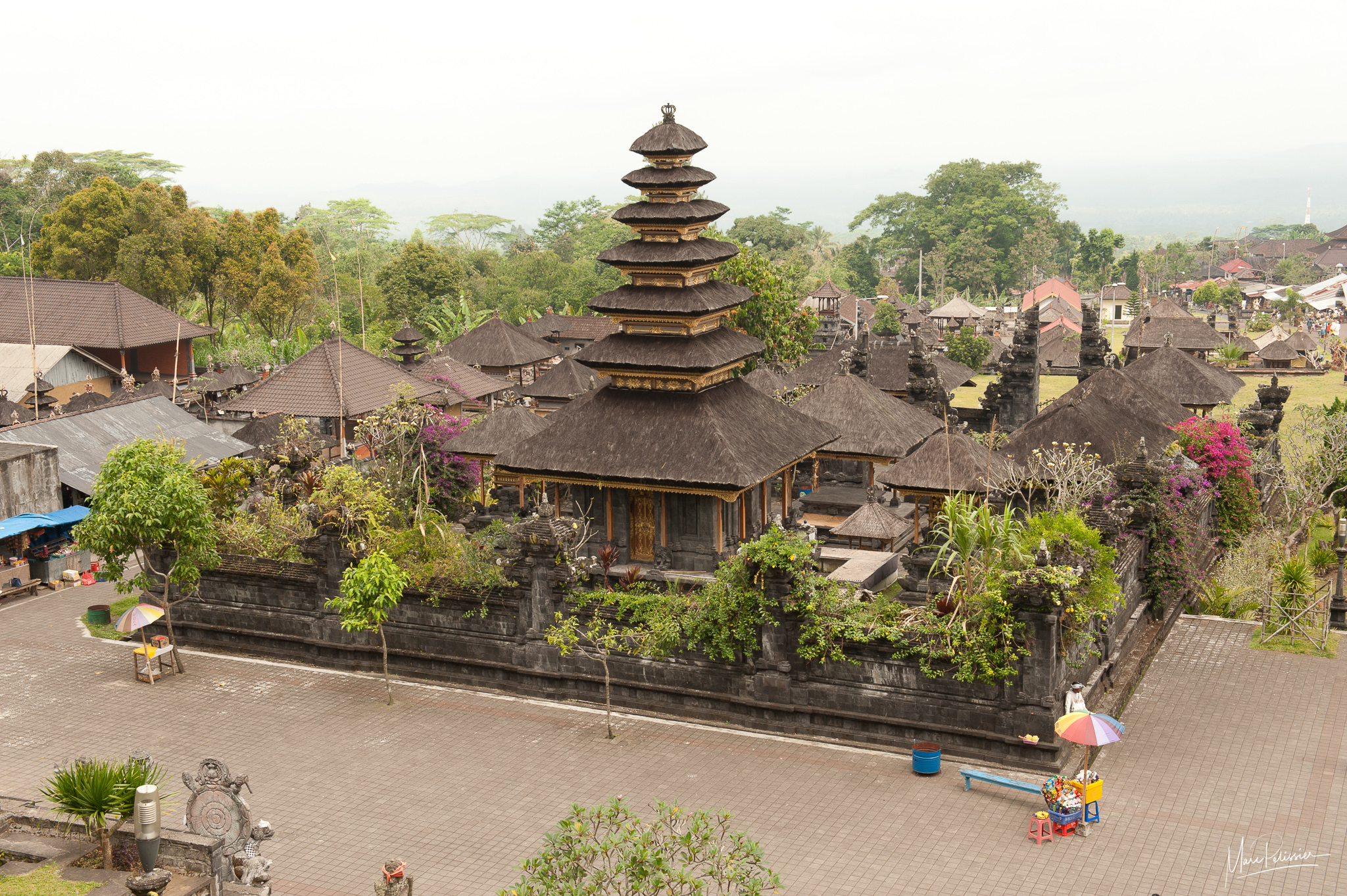 Besakih Bali temple, Indonesia