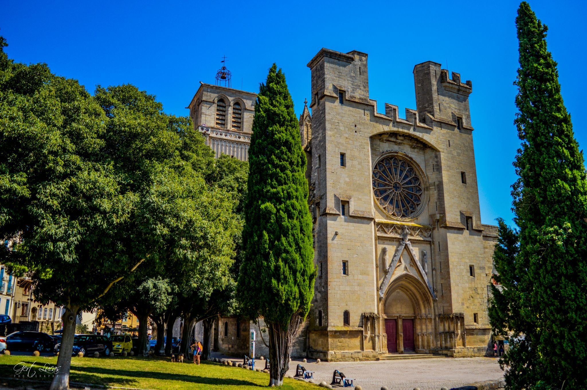 Béziers - Cathédrale Saint Nazaire, France