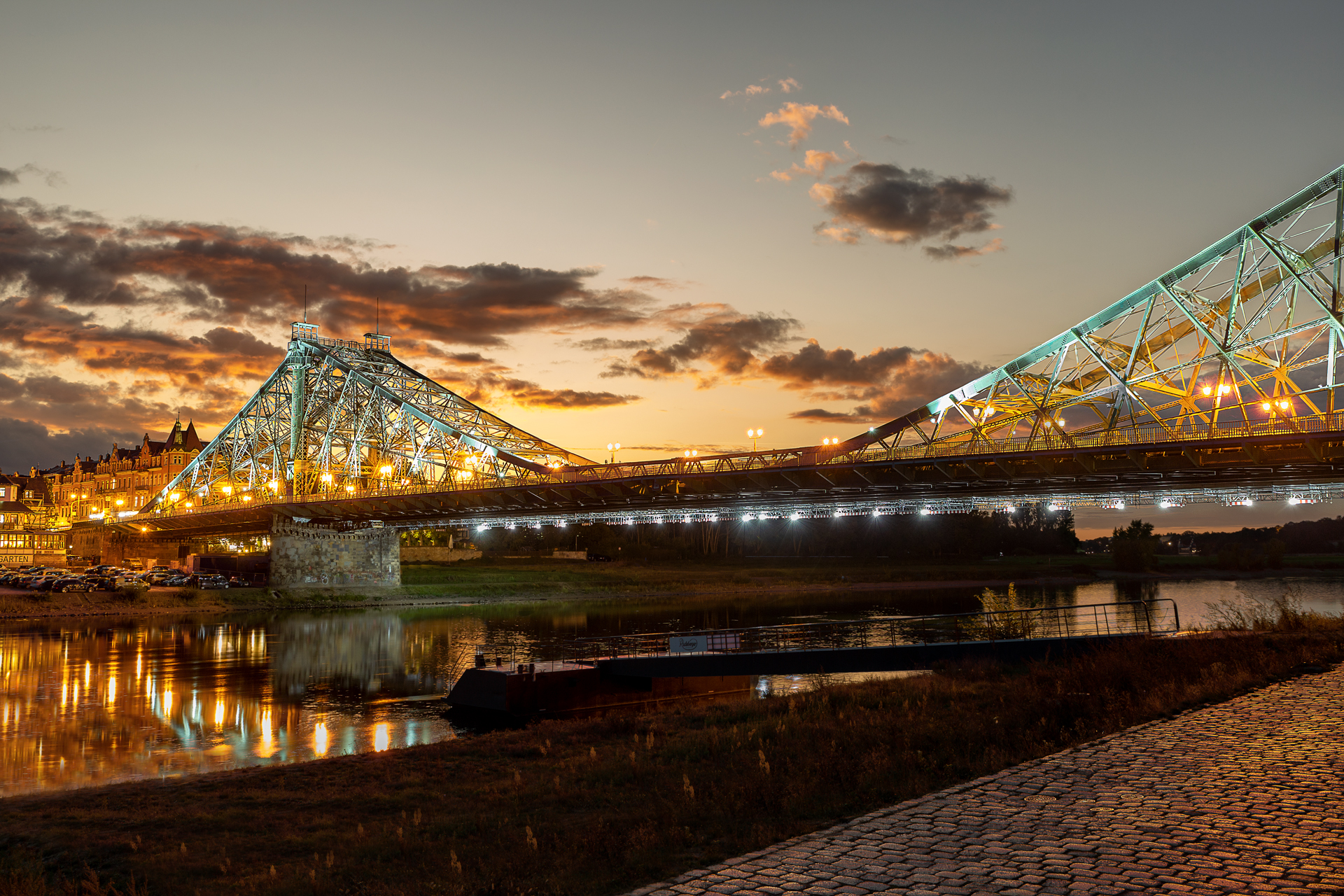 Blaues Wunder - Löschwitz Bridge, Germany