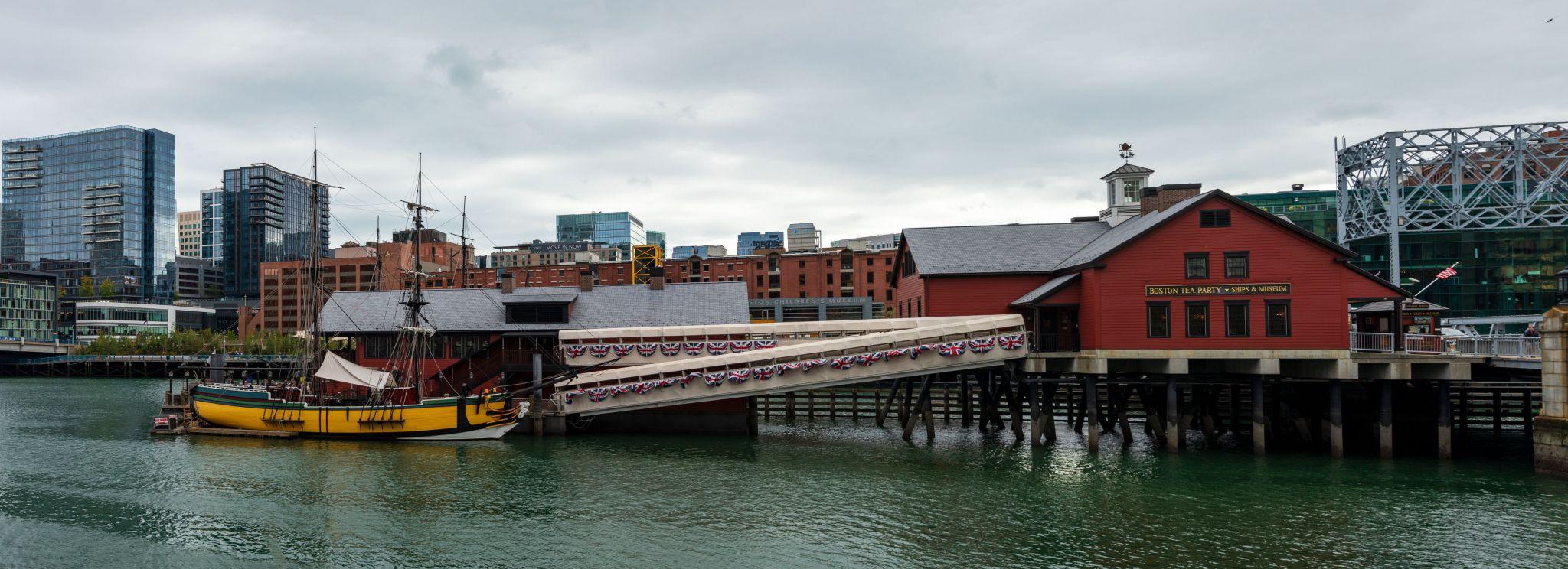 Boston Tea Party Ships & Museum, USA