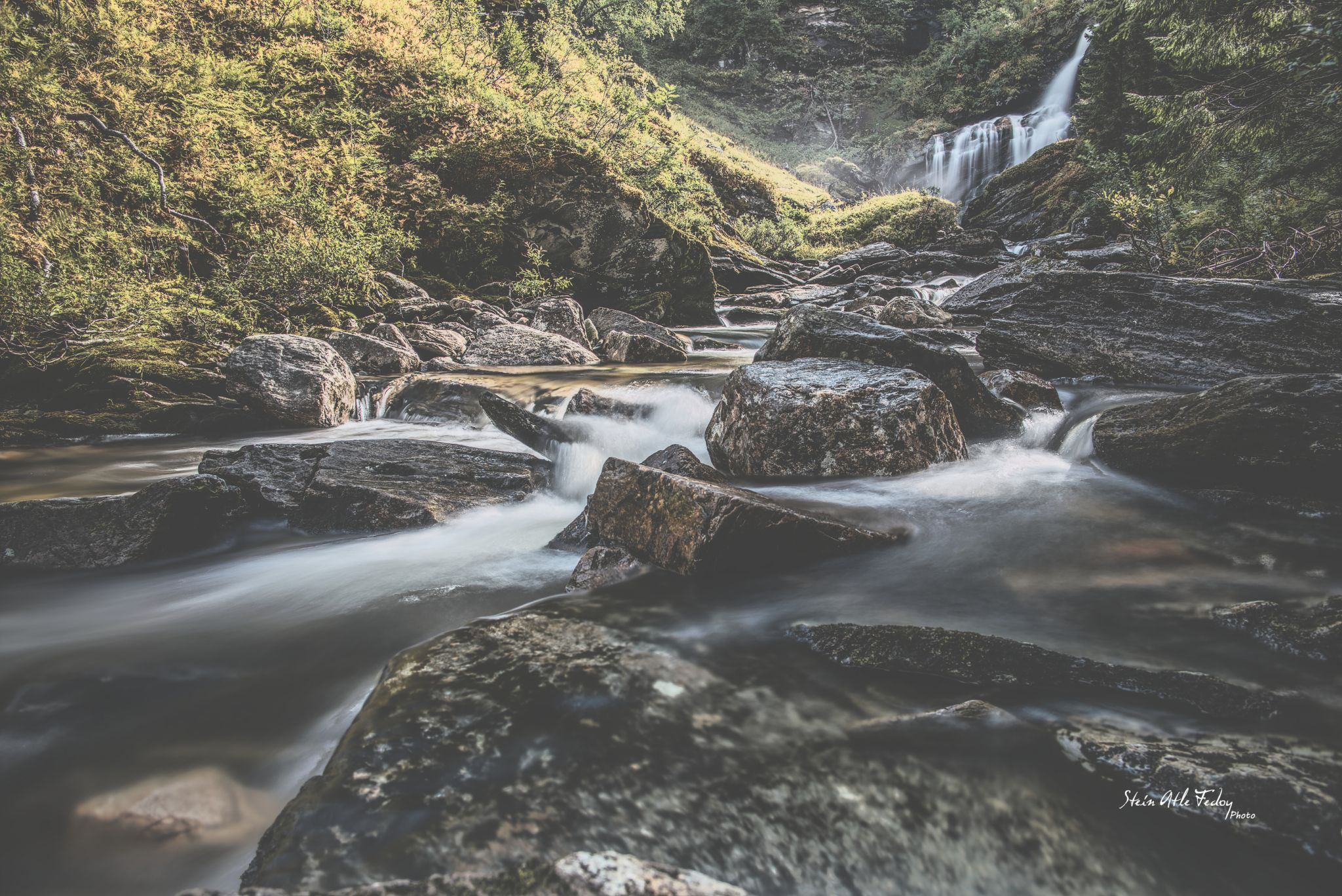 Brekkhus river, Norway