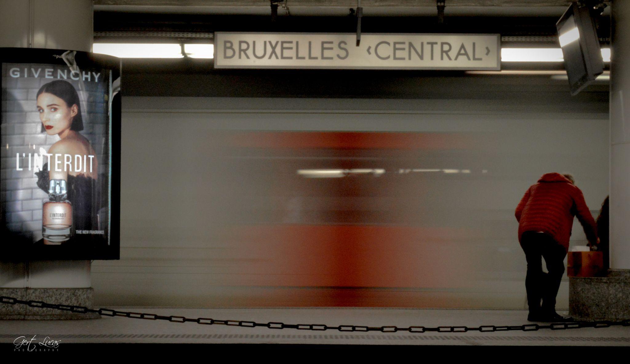 Brussels central trainstation, Belgium
