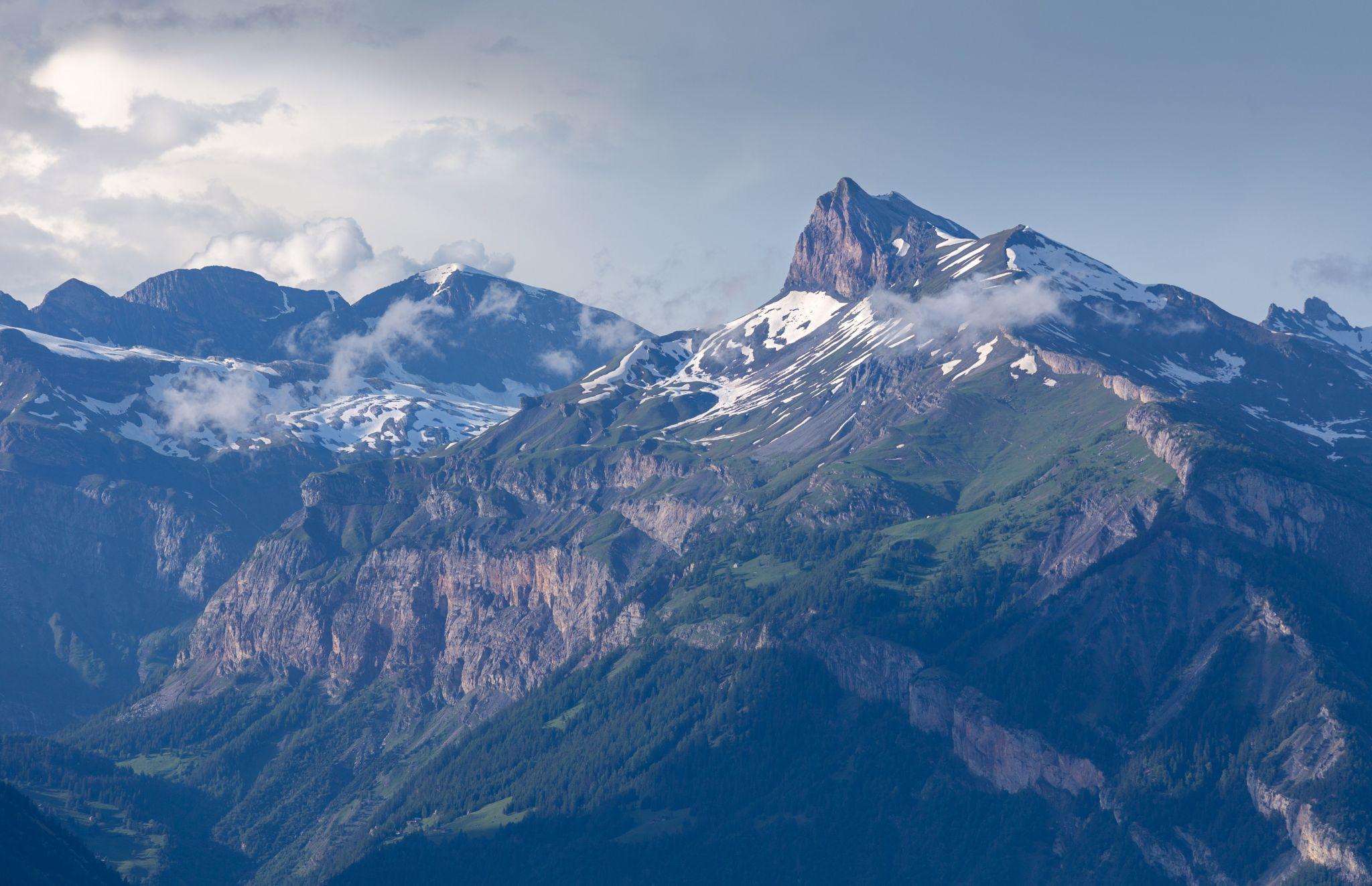 Canton of Valais Alps, Switzerland