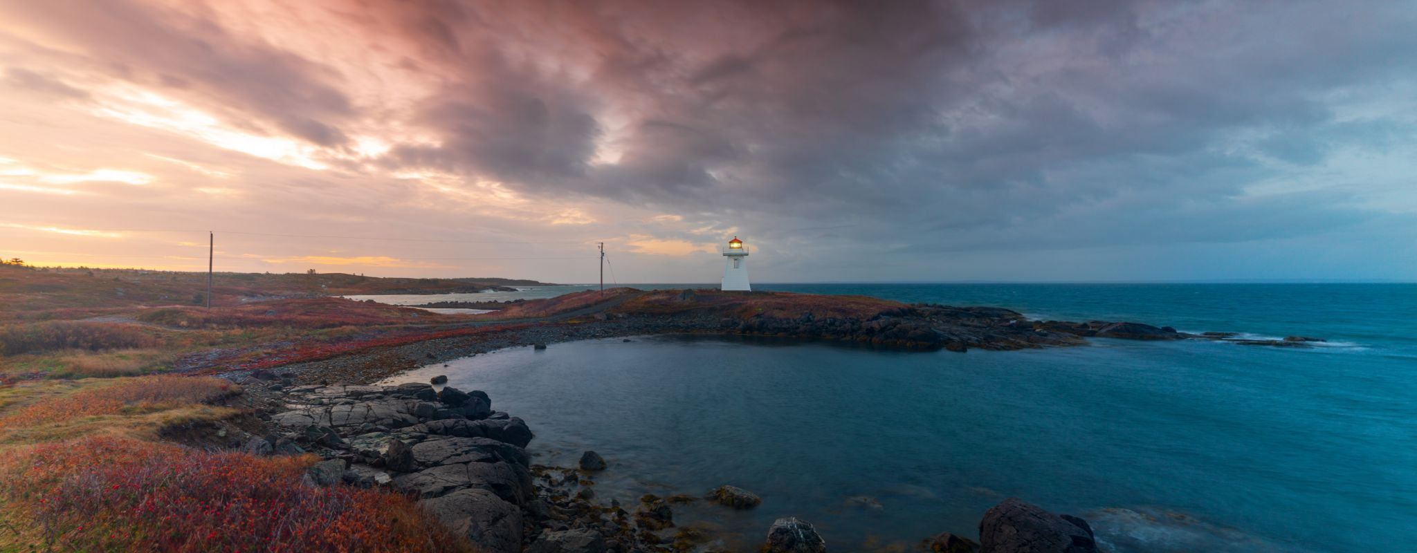 Cap Auget Lighthouse, Isle Madame, Arichat, Nova Scotia, Canada