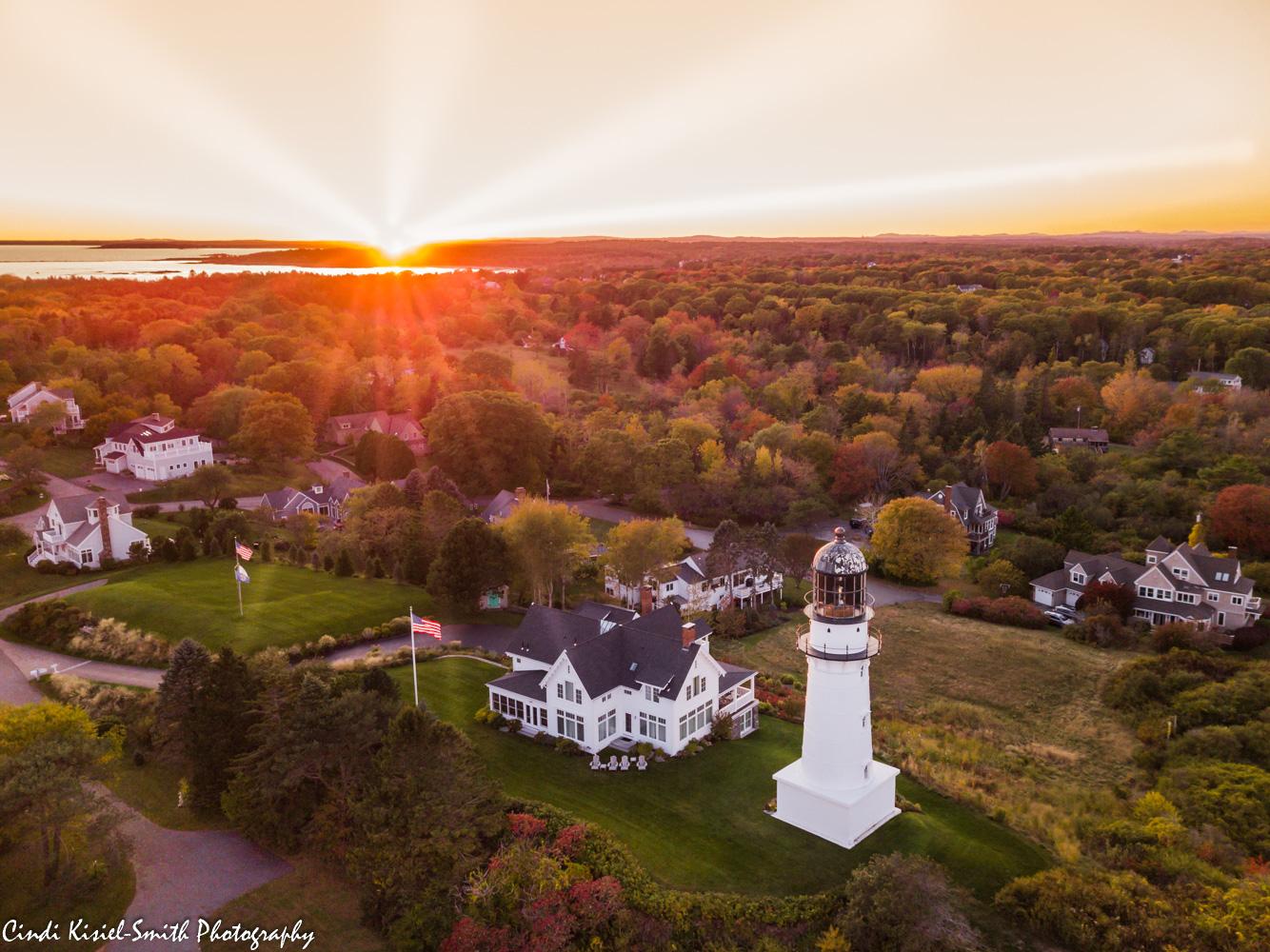 Cape Elizabeth Lighthouse, USA