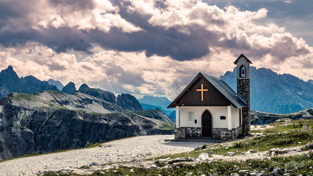 Cappella degli Alpini - Lavaredo, Italy