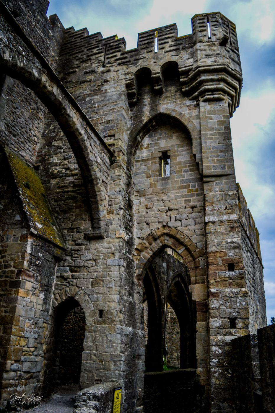 Carcassonne - Chateau Comtal, France