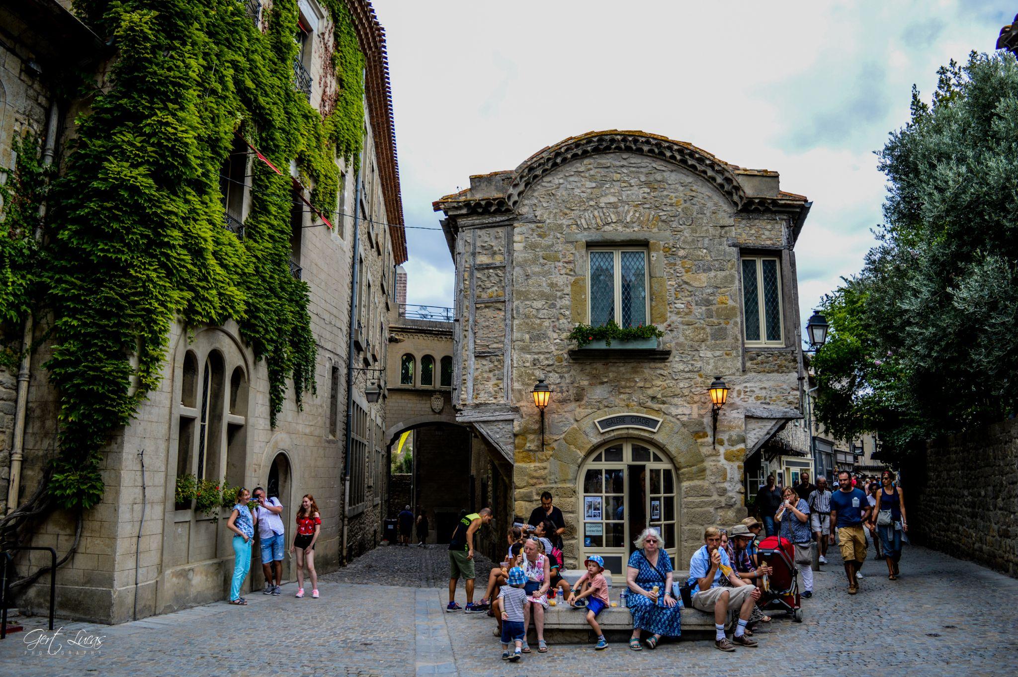 Carcassonne - Place Auguste Pierre Pont, France