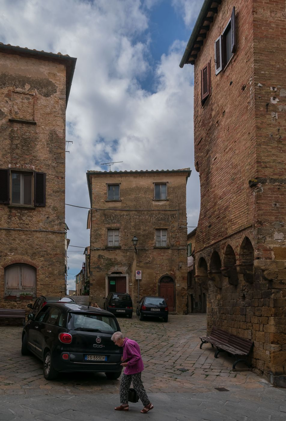 Centro storico, Volterra, Italy