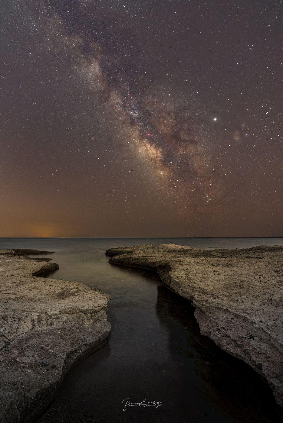 Cesme / Izmir Milky Way, Turkey