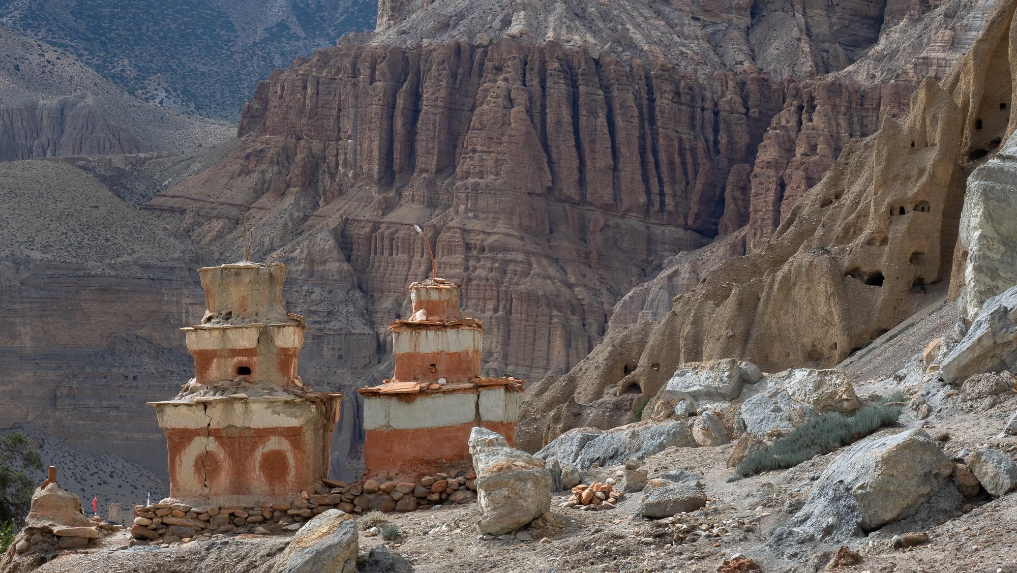 chhusang stupas, Nepal