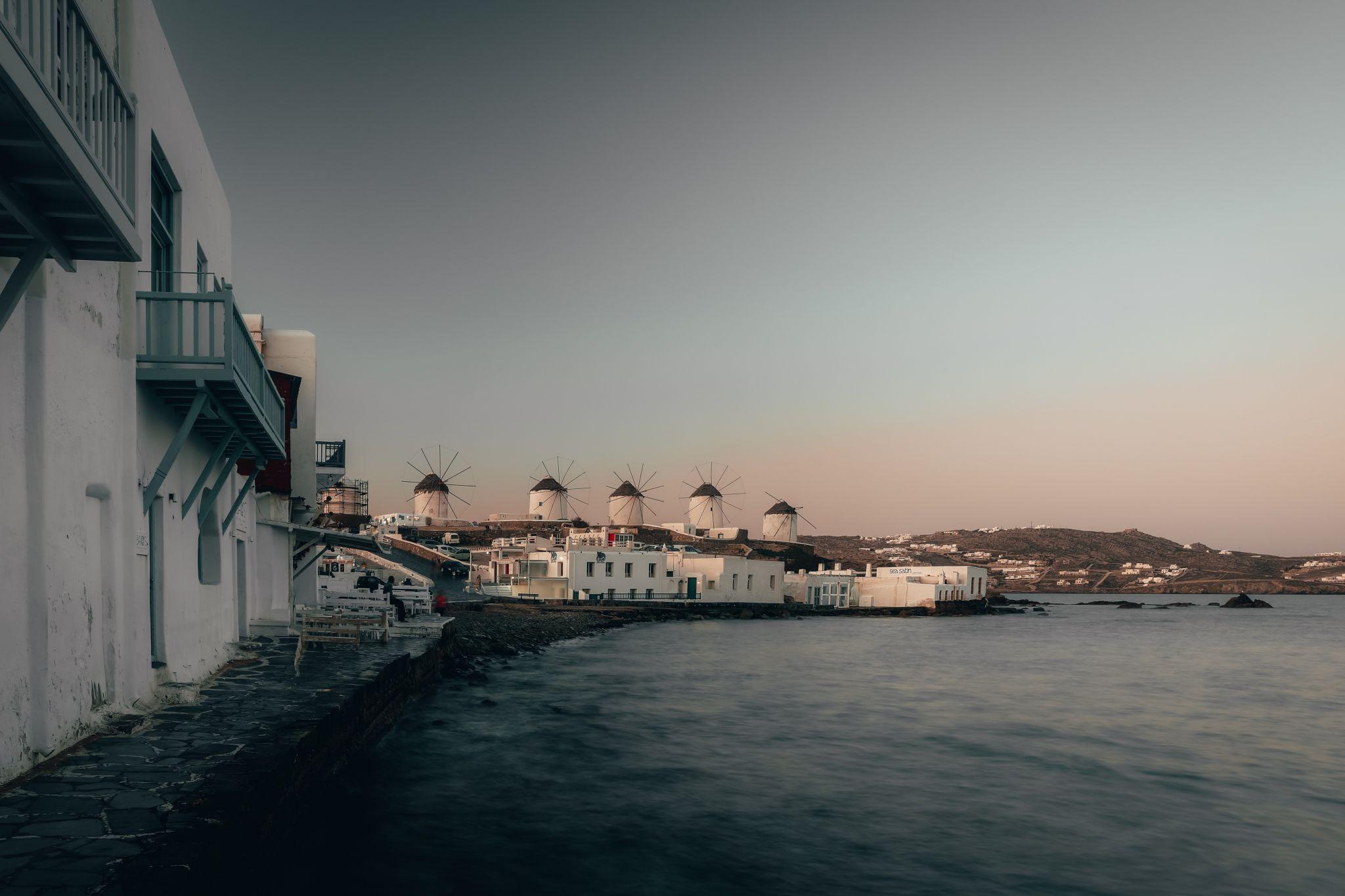 Little Venice, Mykonos, Greece, Greece