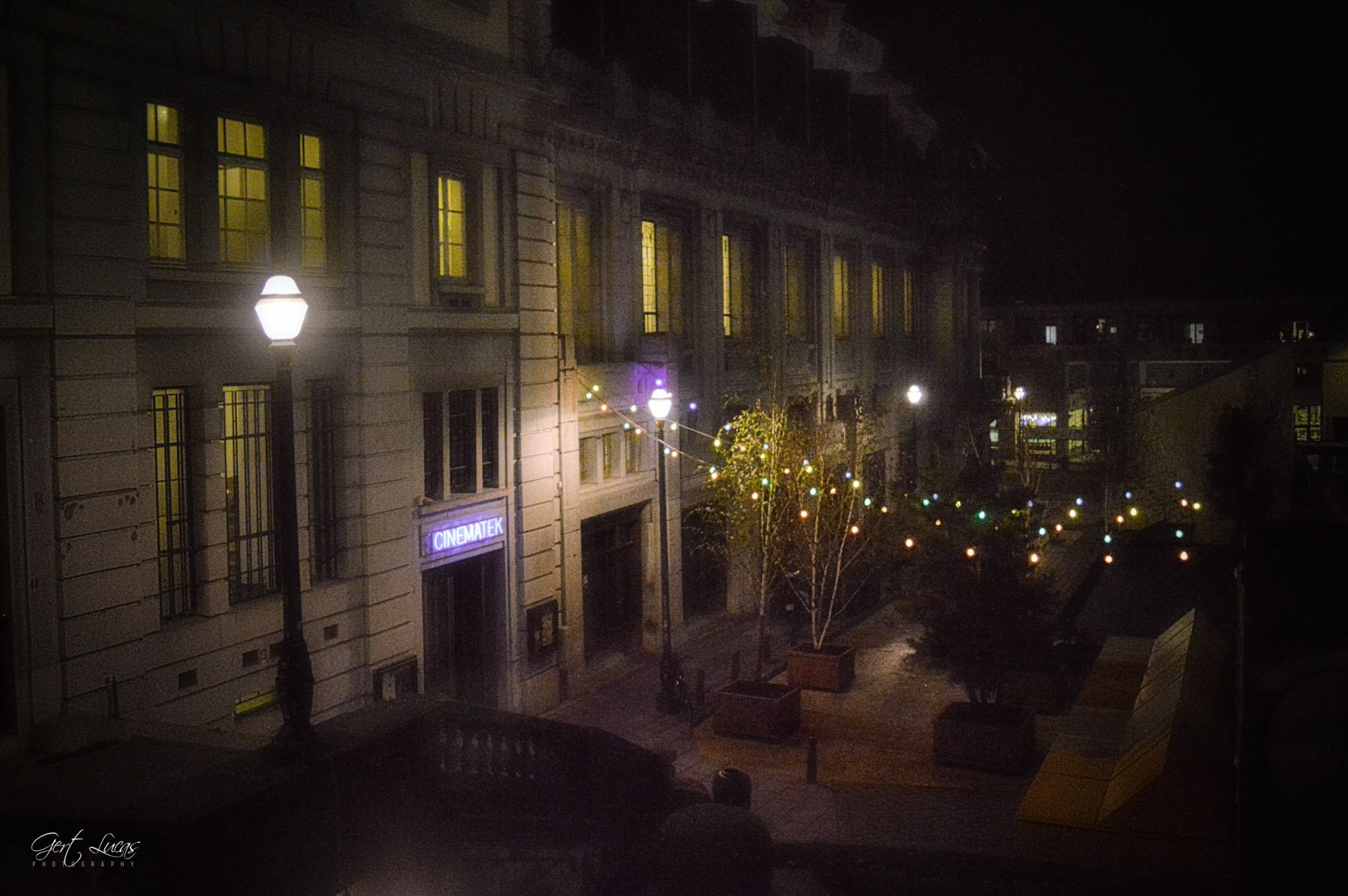 Cinematek front, Belgium
