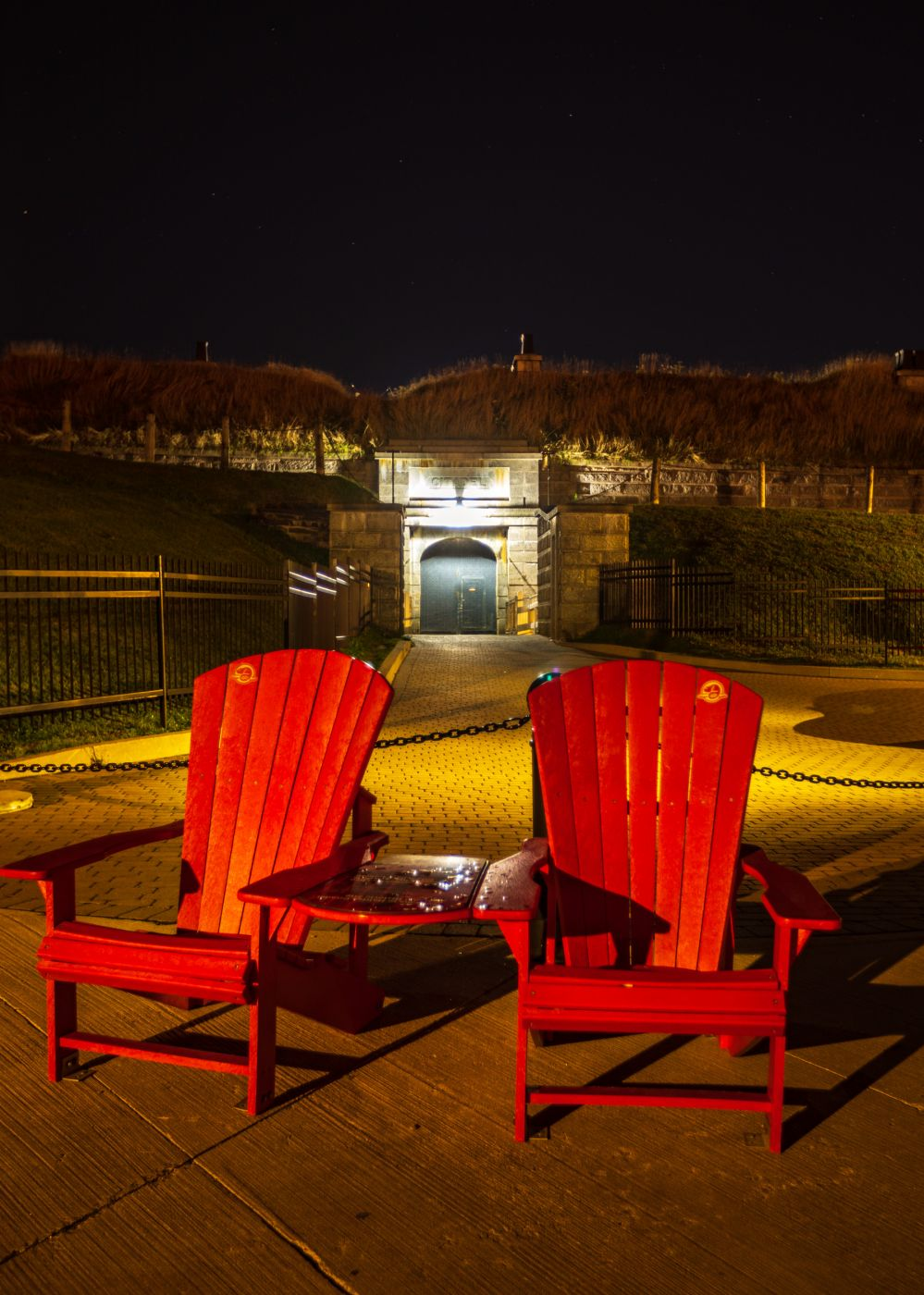 Entrance to the Citadel fort Halifax, Nova Scotia, Canada