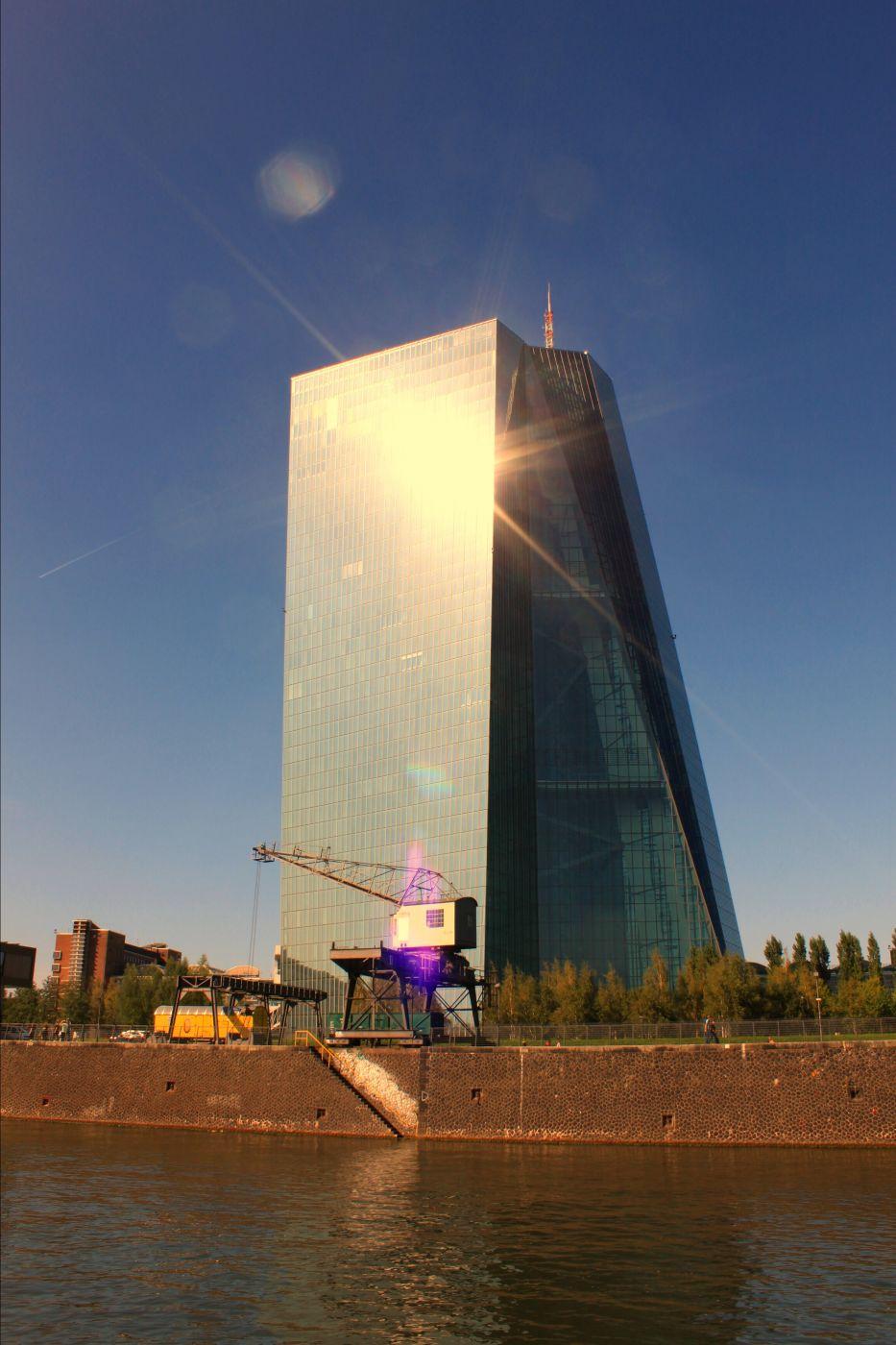 Europäische Zentralbank, Frankfurt, Germany