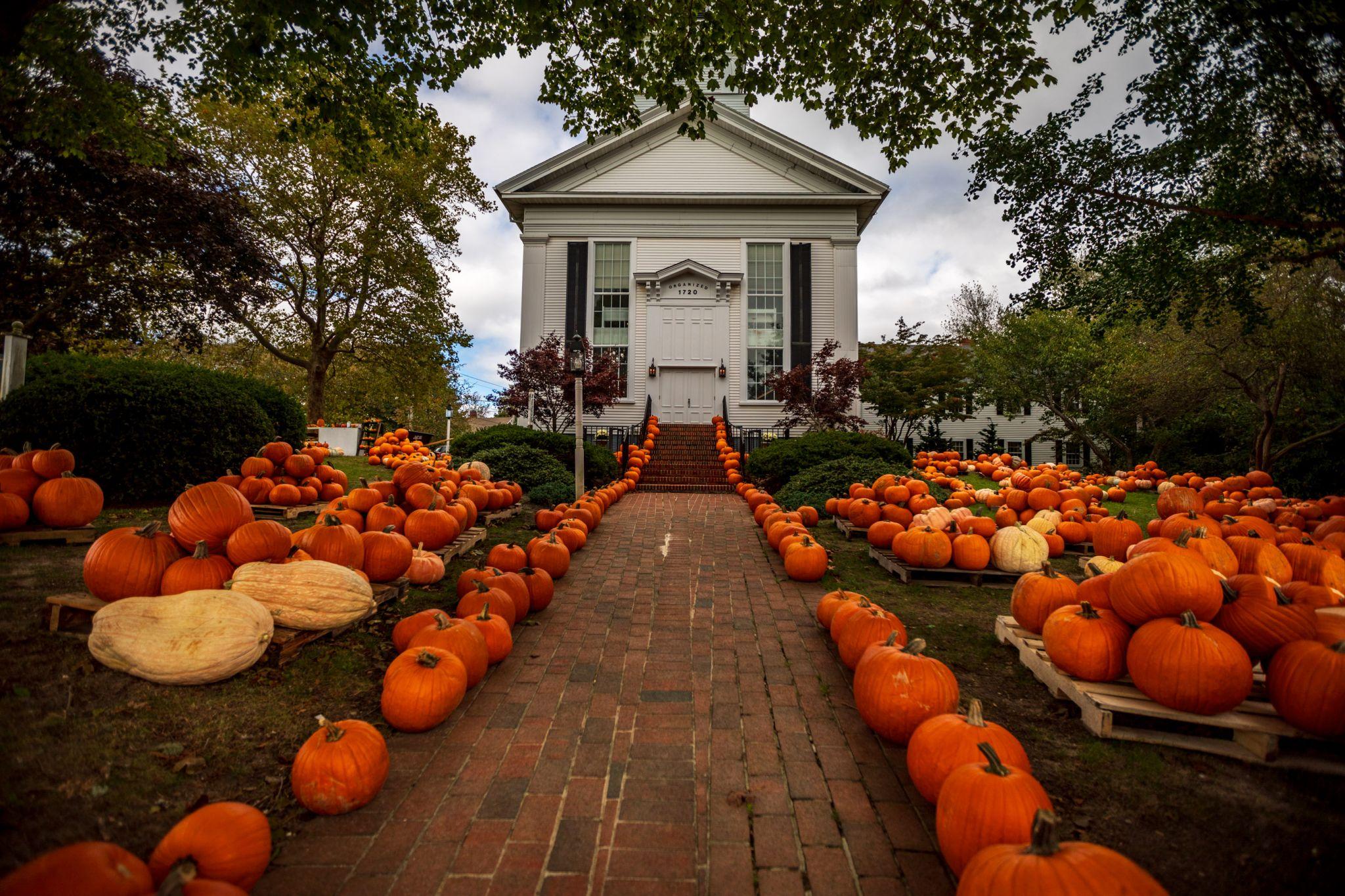 First Congregational Church of Chatham, Halloween Pumpkins, USA