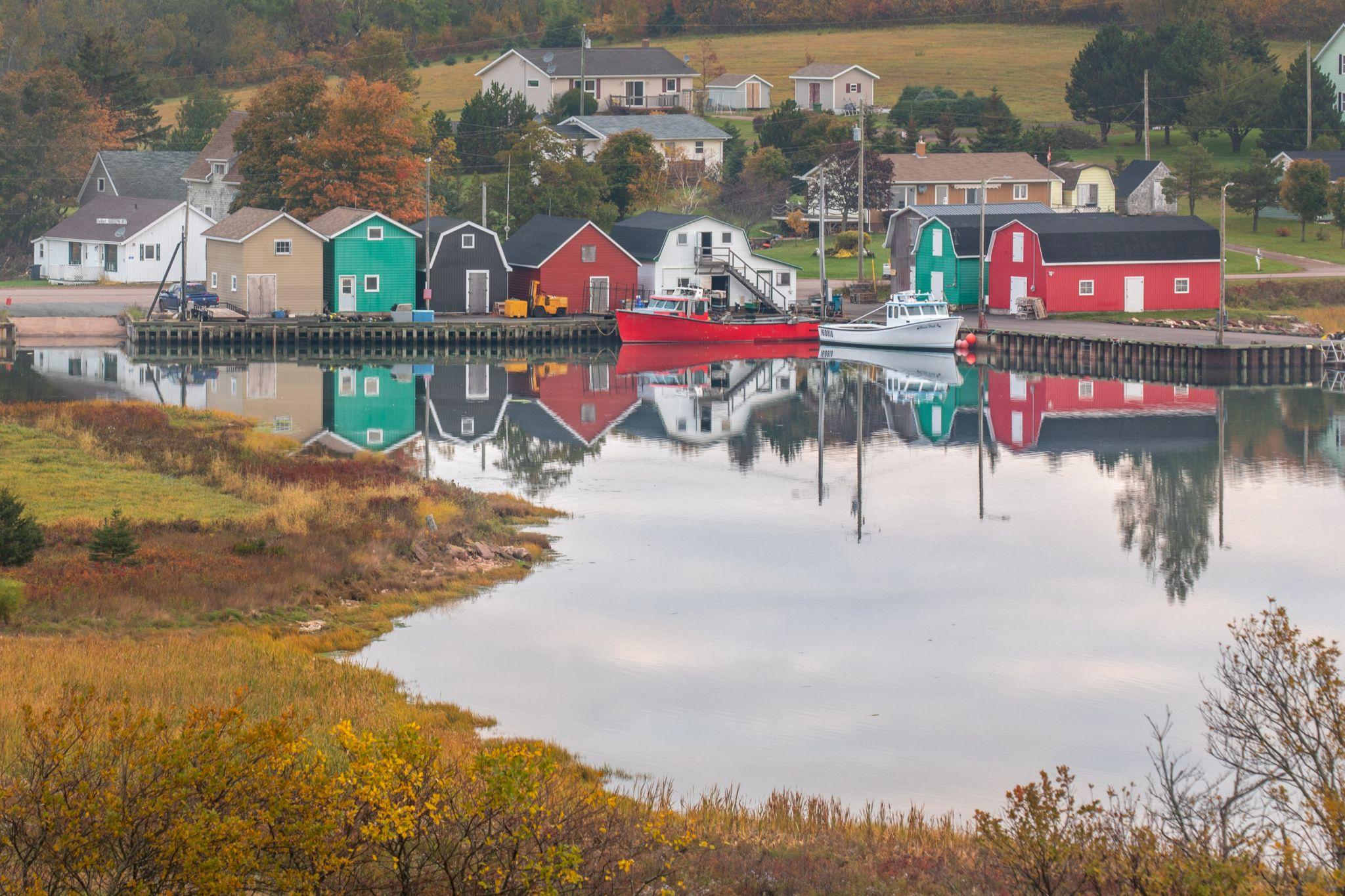 Fishing Boats, French River Prince Edward Island, Canada