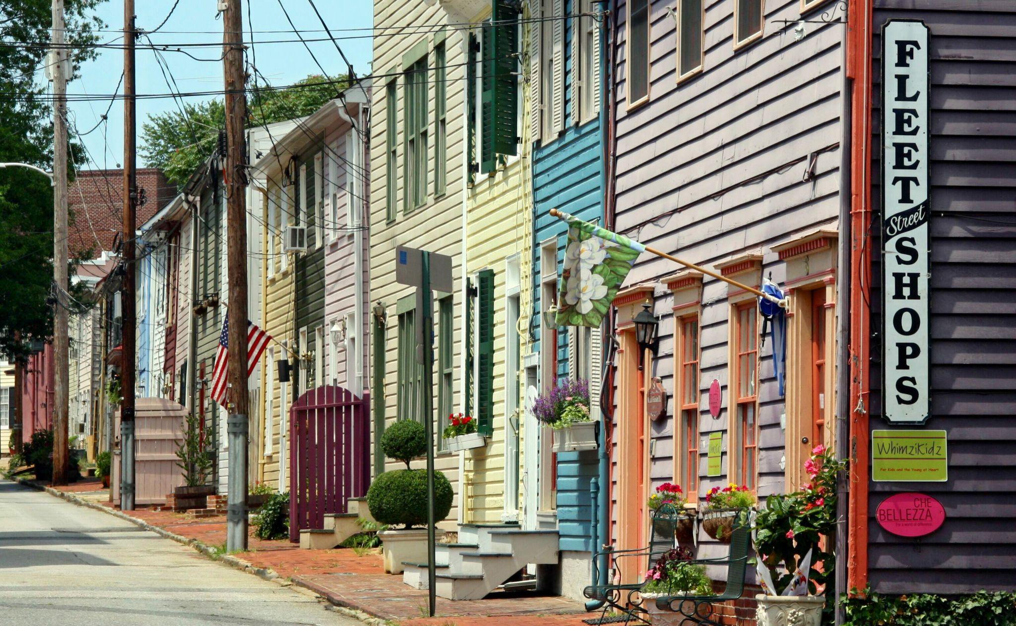 Fleetstreet, Annapolis, Maryland, USA