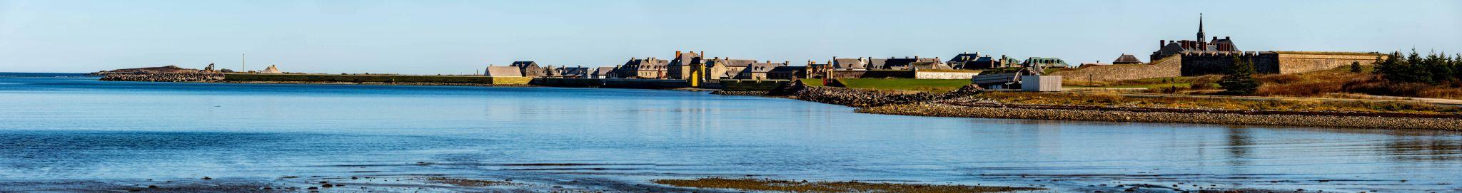 Fortress of Louisbourg pano Cape Breton Nova Scotia, Canada