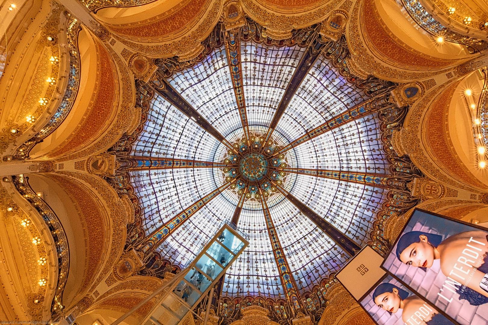 Galeries Lafayette, France