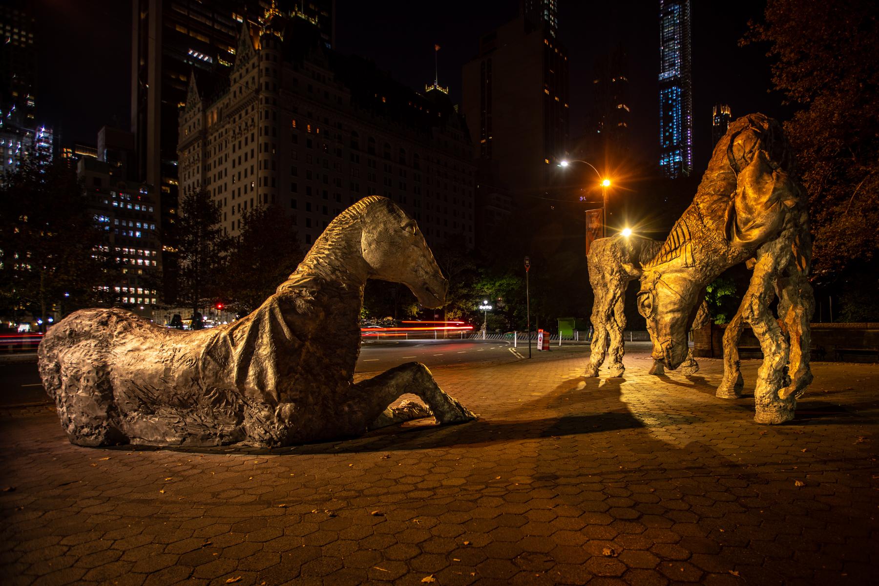 Giant Horse Sculpture, Central Park, New York, USA