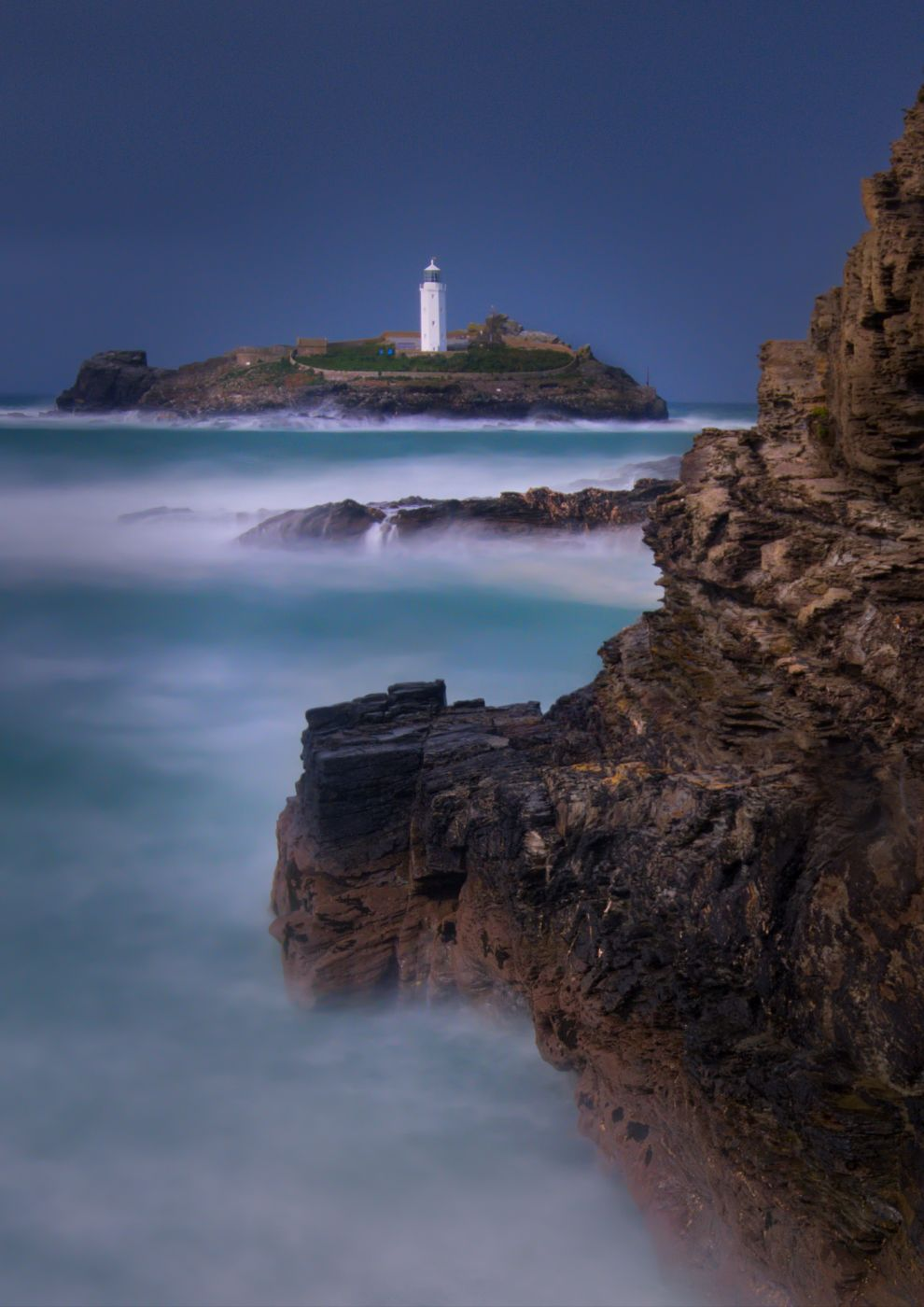 Godrevy Lighthouse, Cornwall, United Kingdom