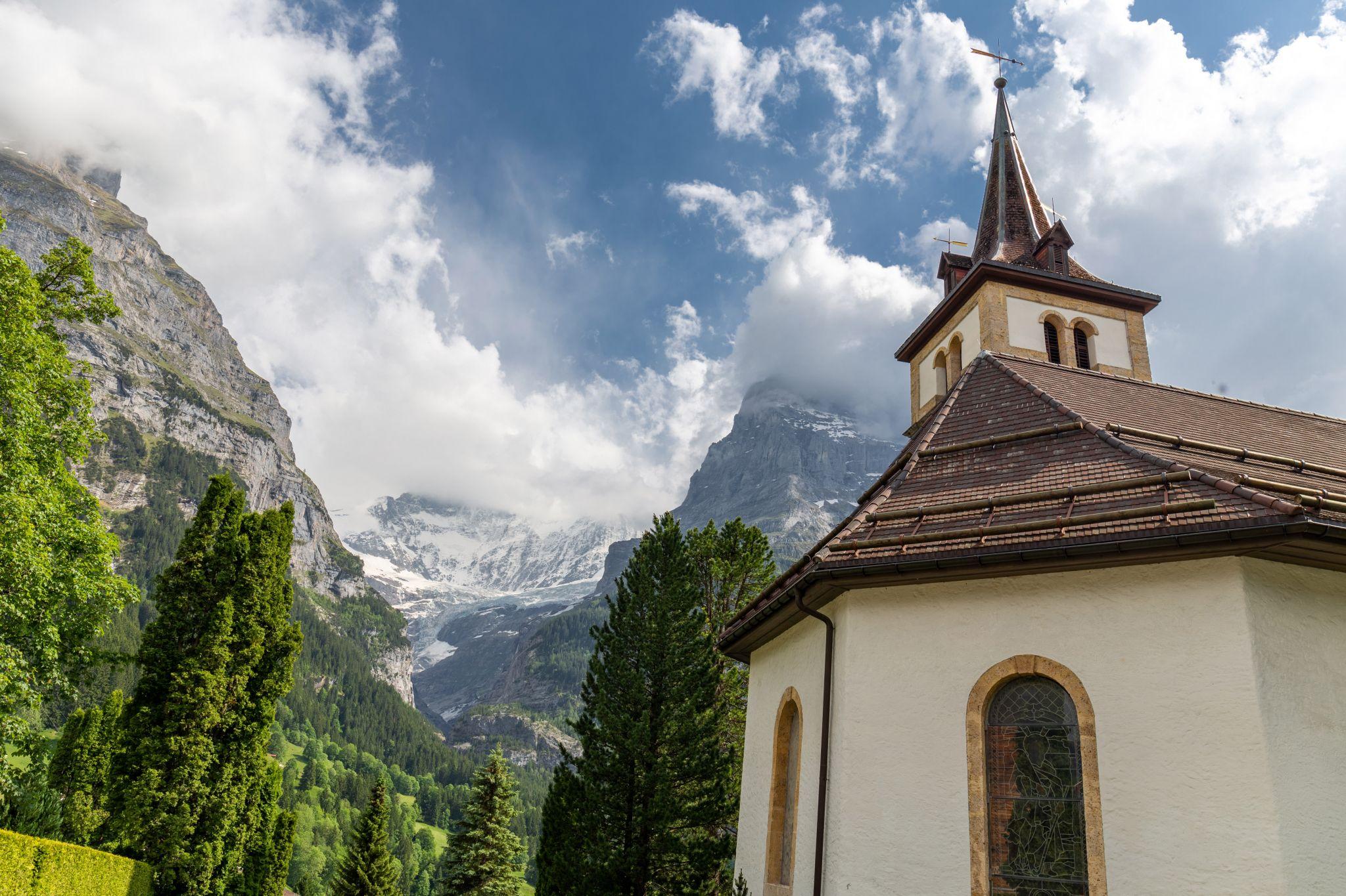 Grindelwald Reformed Church, Switzerland