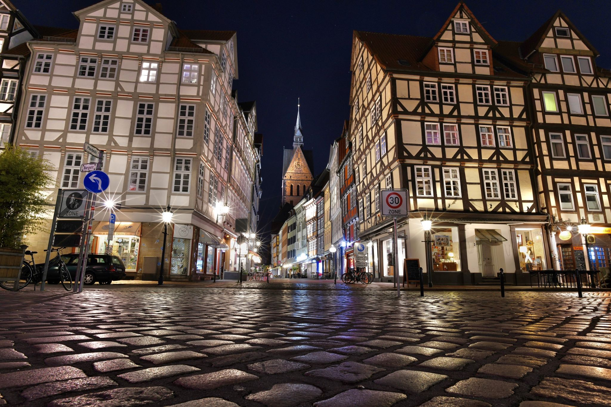 Hannover Altstadt / Old Town, Germany