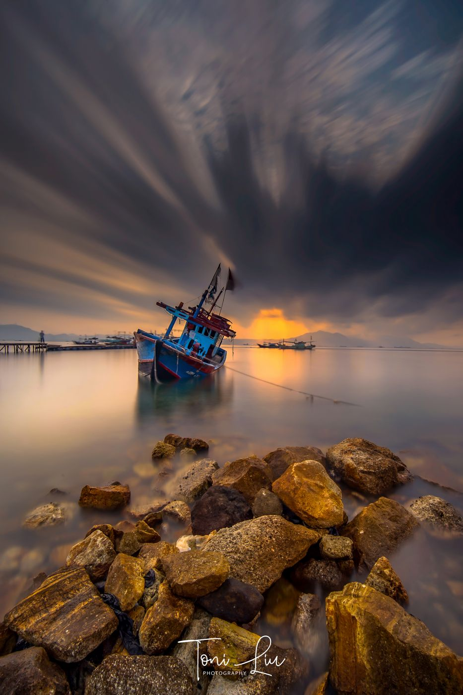 HARNAS BEACH WRECKED SHIP, Indonesia