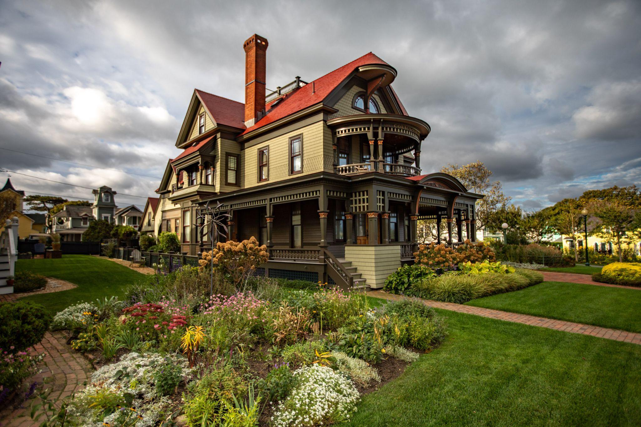 Historic home 87 Ocean Ave Oak Bluffs Martha's Vinyard, USA