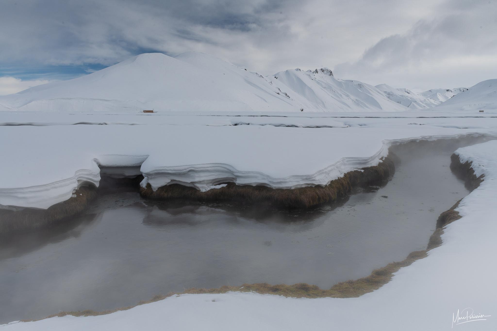 Hot spring Brennisteinsalda, Iceland